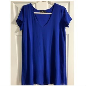 Lulu's Blue Shift Dress